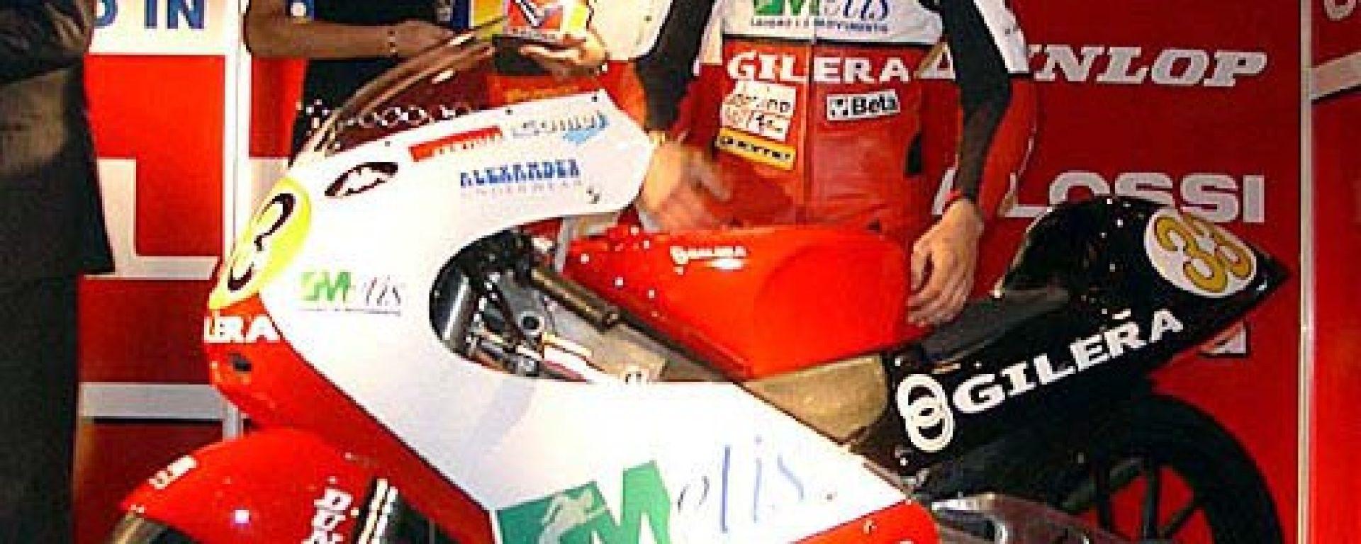 Gilera: debutta la 125 GP