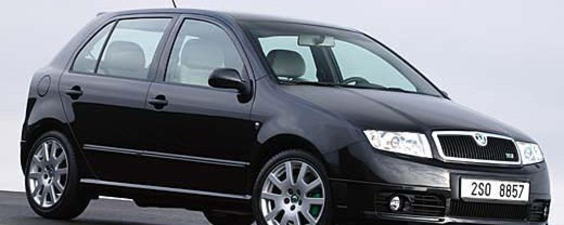 Anteprima:Škoda Fabia RS