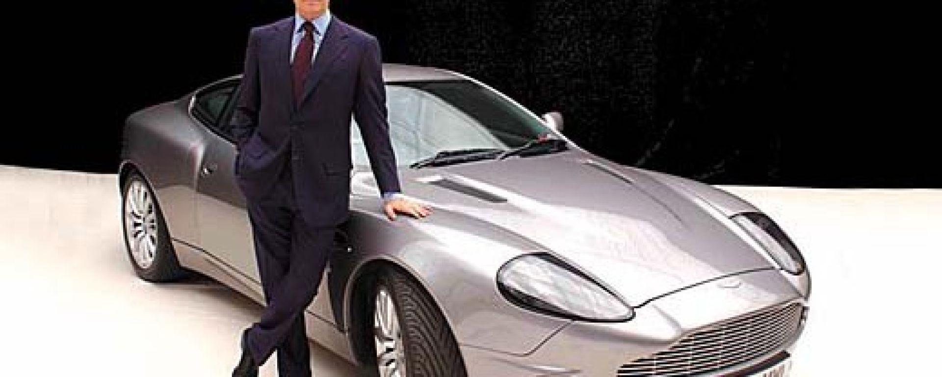 Aston Martin Vanquish & C. le auto del nuovo James Bond