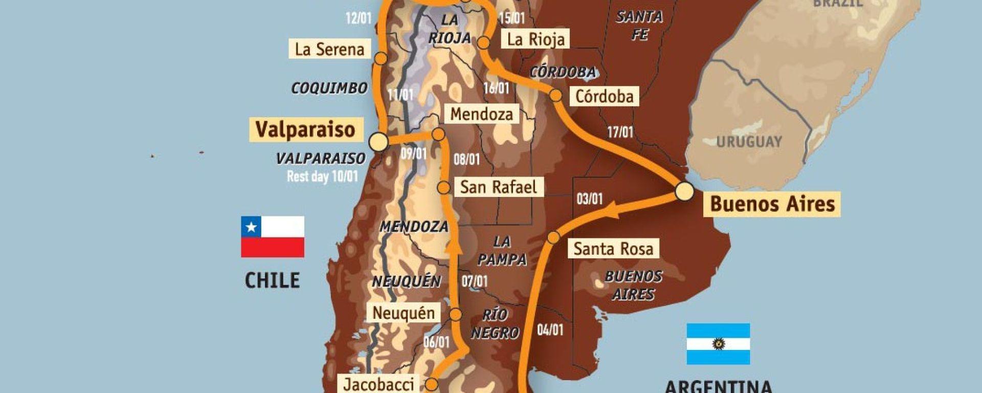 Dakar 2009: imbarcati gli equipaggi