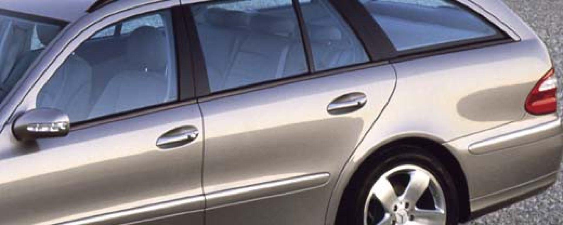 Anteprima: Mercedes Classe E SW 2003