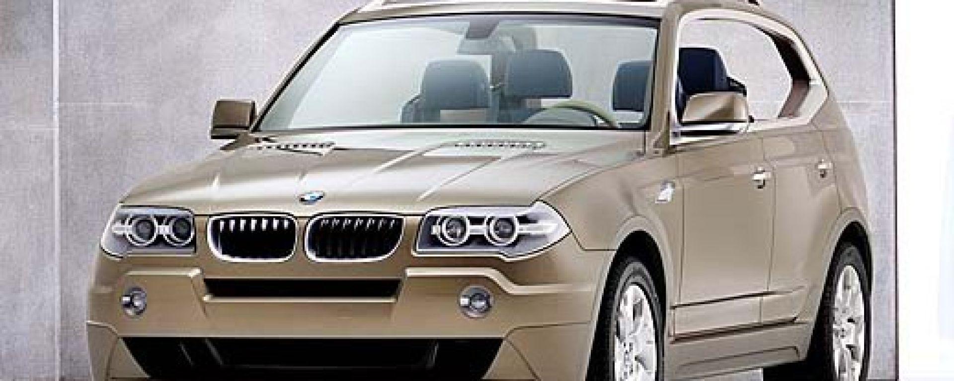 Esclusivo: ecco la BMW X3
