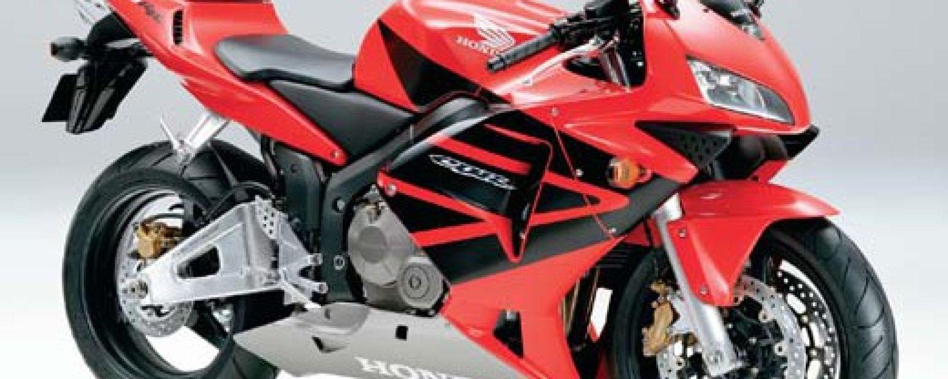 In sella alla: Honda CBR 600 RR