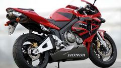 In sella alla: Honda CBR 600 RR - Immagine: 3