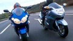 Sport Touring:Honda CBR XX vs Kawasaki ZZ-R - Immagine: 34