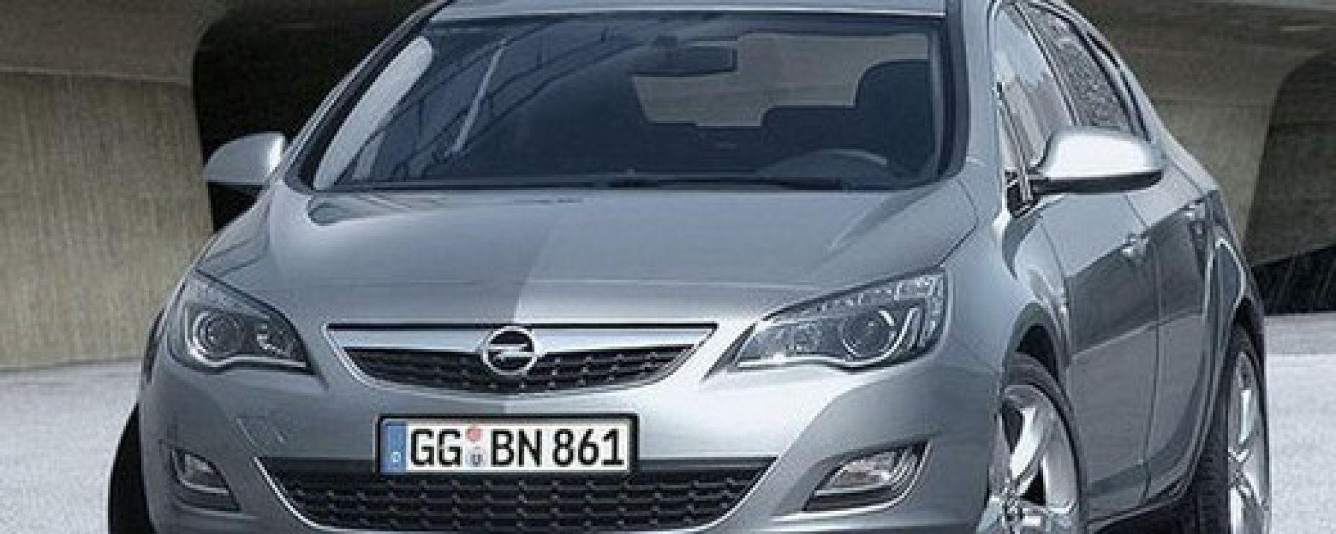 Nuova Opel Astra 2010, le prime foto