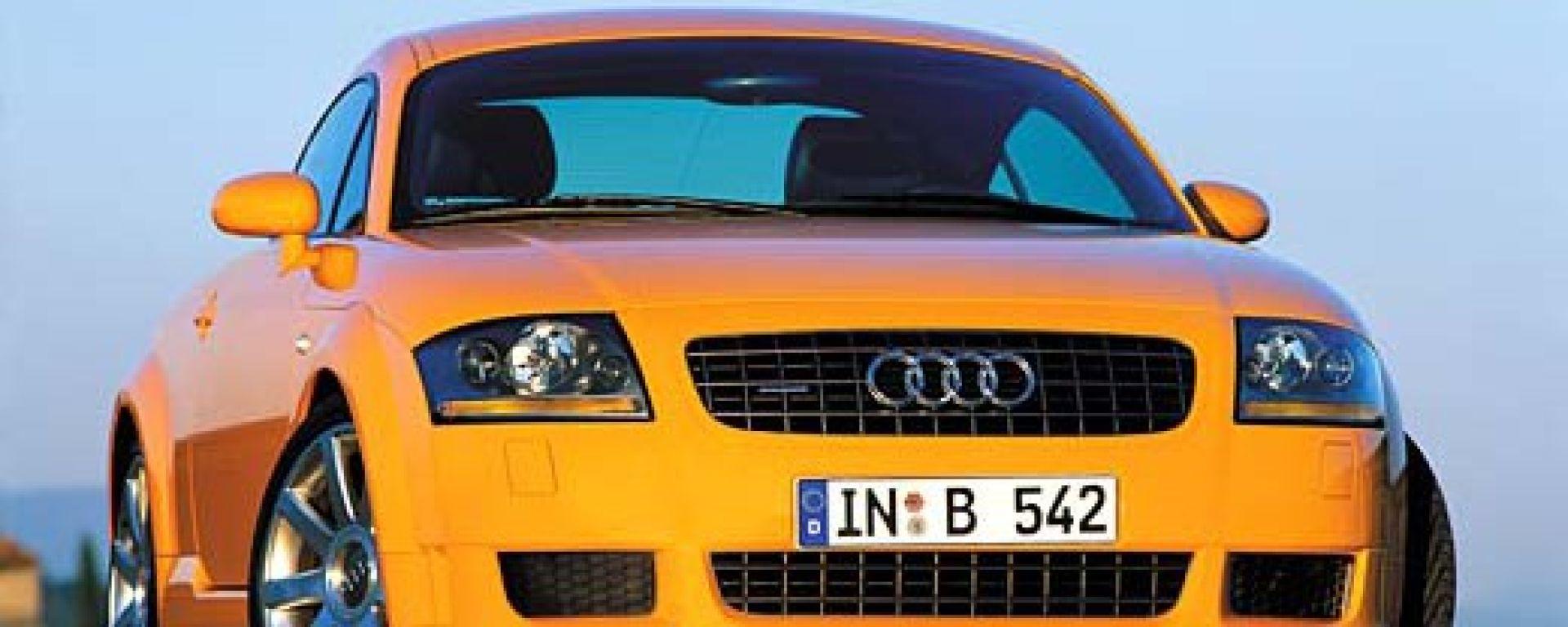 AnteprimaAudi TT 3.2 Quattro Coupé