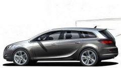 Nuova Opel Astra 2010, le prime foto - Immagine: 5