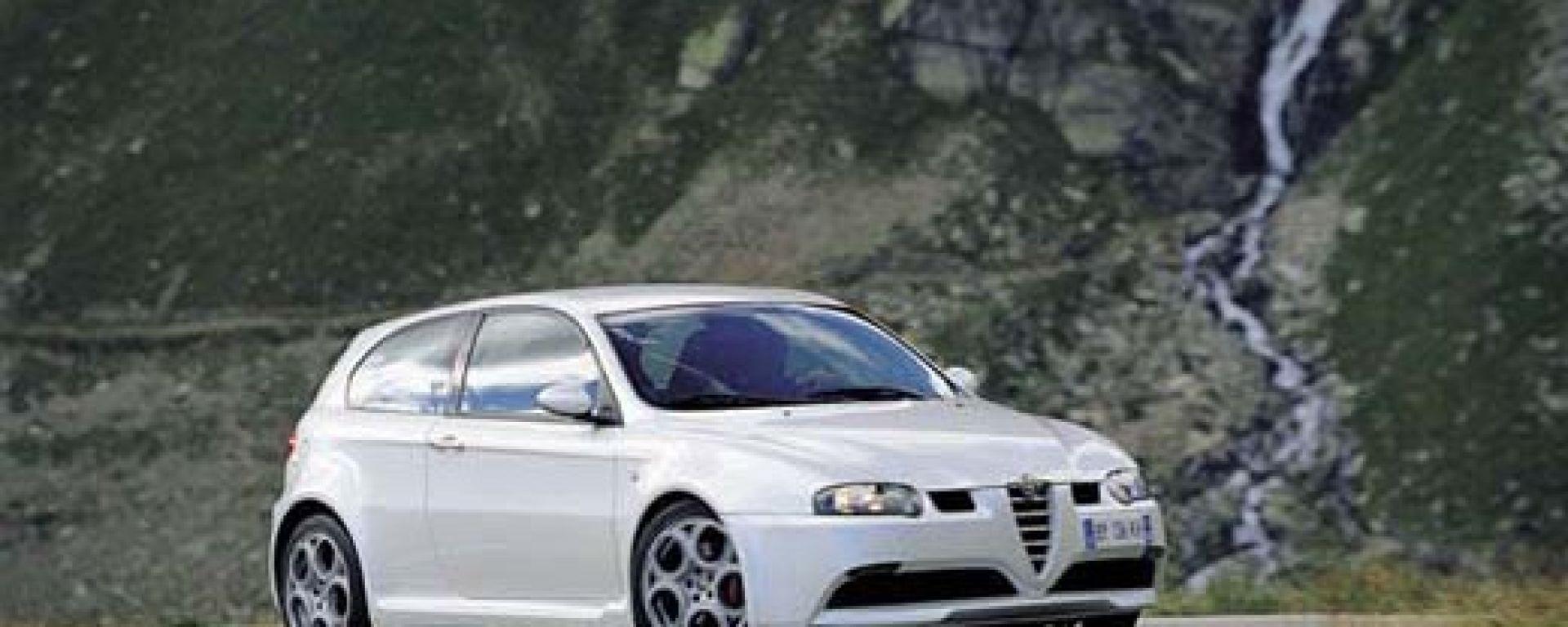 Su strada con l'Alfa Romeo 147 GTA