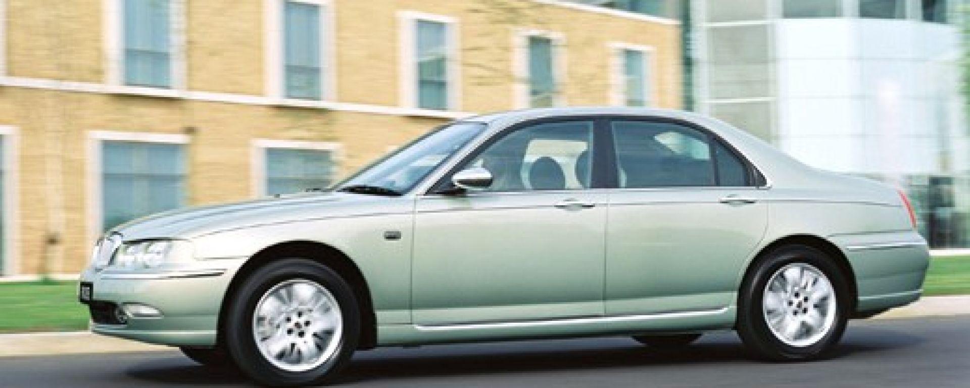 Su strada con la Rover 75 1.8 Turbo e 2.0 CDTi