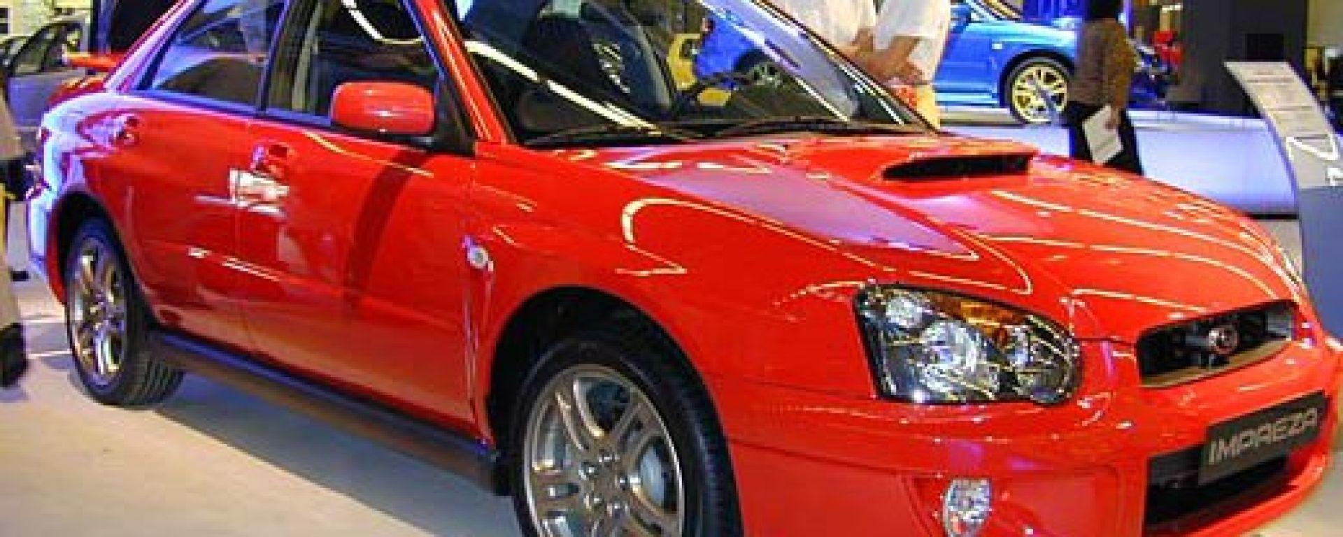 Subaru Impreza my 2003