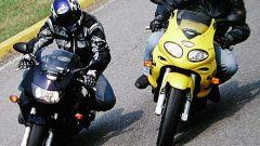 Honda VTR Firestorm vs Triumph Sprint RS - Immagine: 4