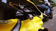 Honda VTR Firestorm vs Triumph Sprint RS - Immagine: 6