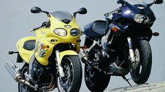 Honda VTR Firestorm vs Triumph Sprint RS - Immagine: 12