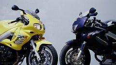 Honda VTR Firestorm vs Triumph Sprint RS - Immagine: 13