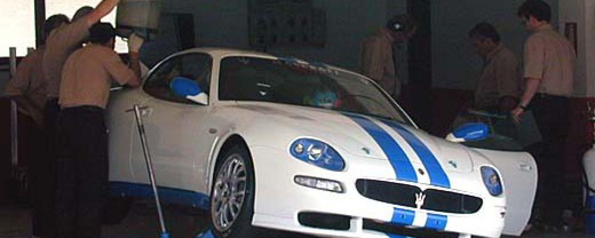 Esclusivo. Le prove della Maserati Trofeo