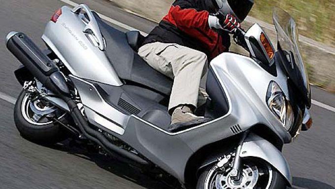 Immagine 3: Suzuki Burgman 650