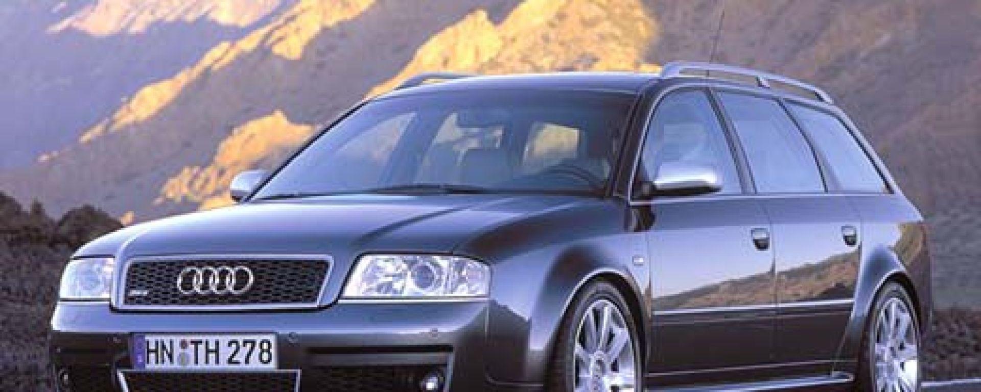 Su strada con l'Audi RS6