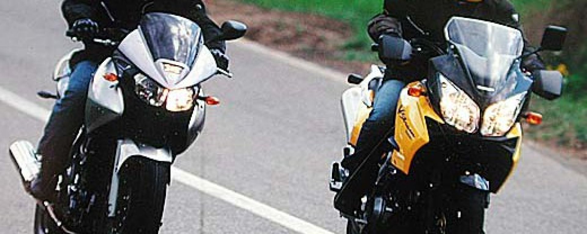 Yamaha TDM vs Suzuki V-Strom