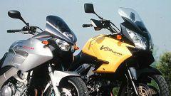 Yamaha TDM vs Suzuki V-Strom - Immagine: 2