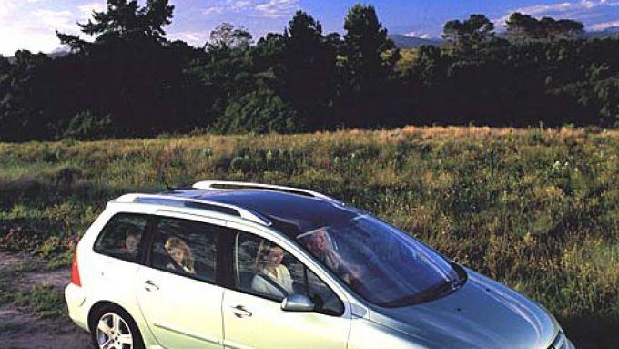 Immagine 7: Su strada con la Peugeot 307 SW