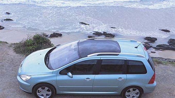 Immagine 8: Su strada con la Peugeot 307 SW