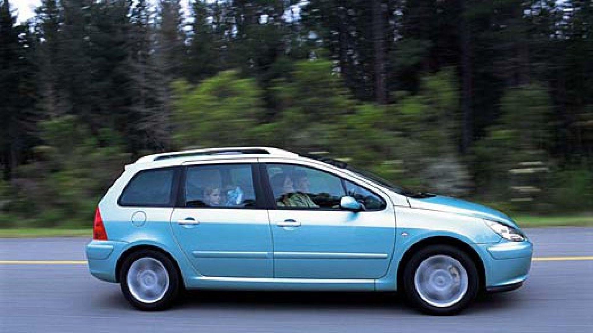 Immagine 16: Su strada con la Peugeot 307 SW