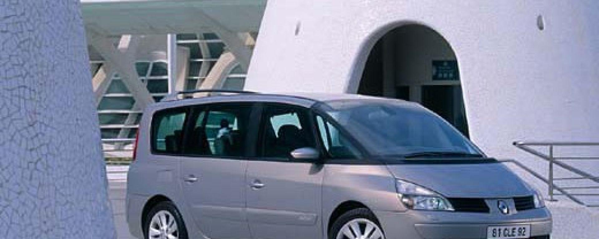 Su strada con la Renault Espace IV