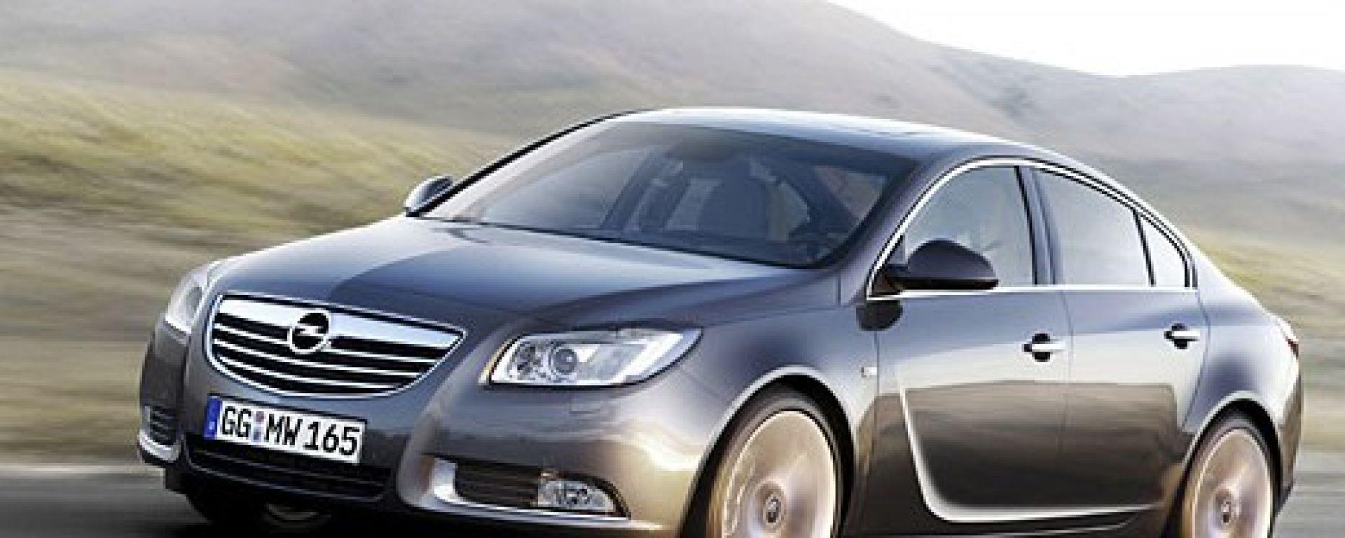 Il titolo alla Opel Insignia