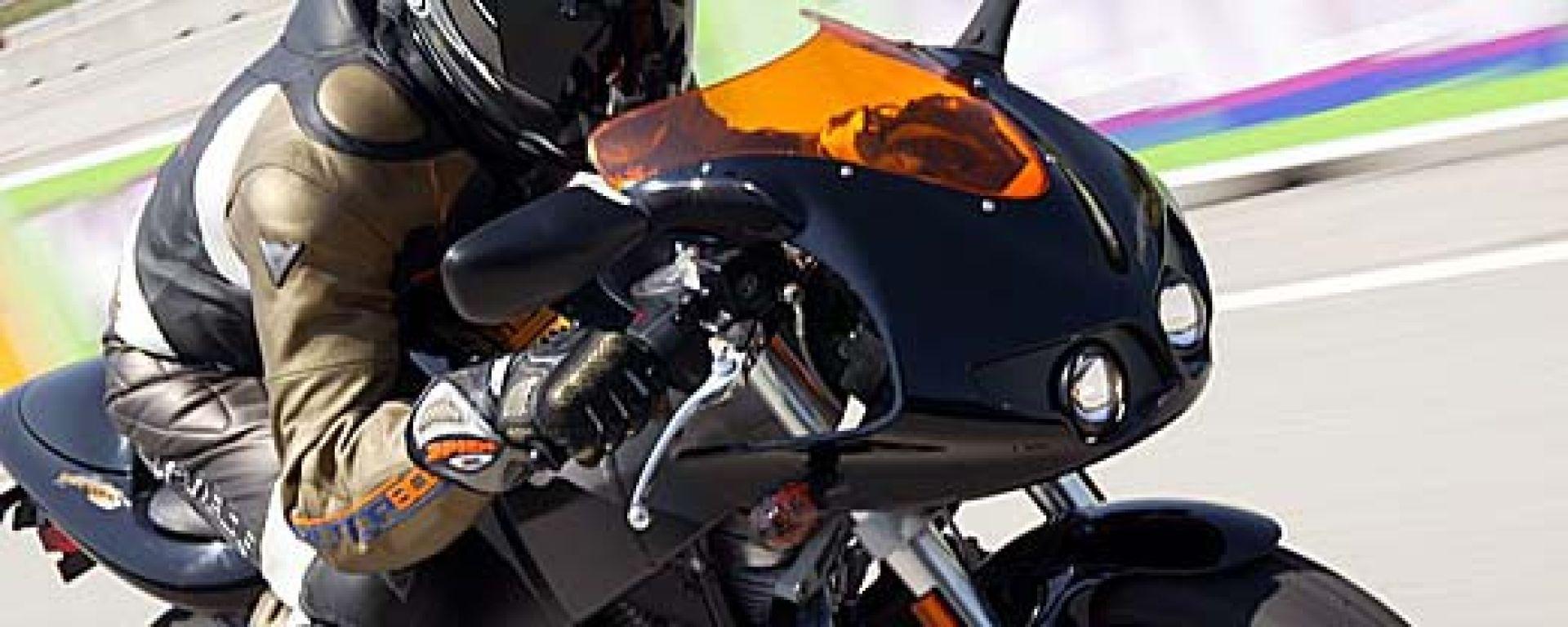 In pista con le nuove Buell: XB12 Lightning e Firebolt