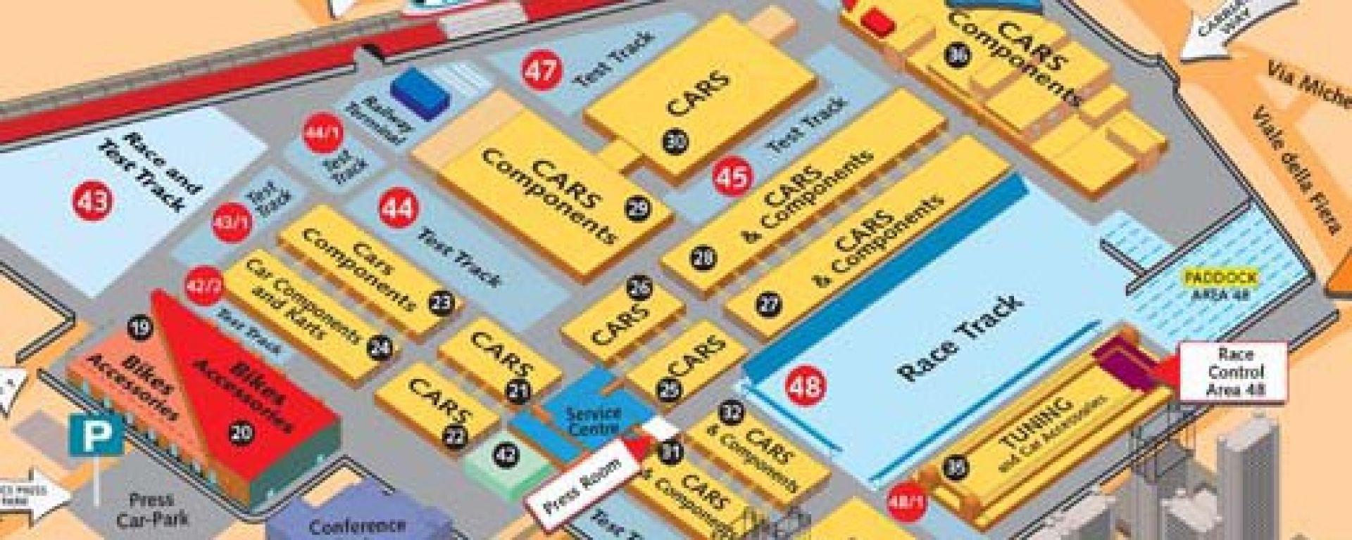 Motorshow 2001: le curiosità tra gli stand
