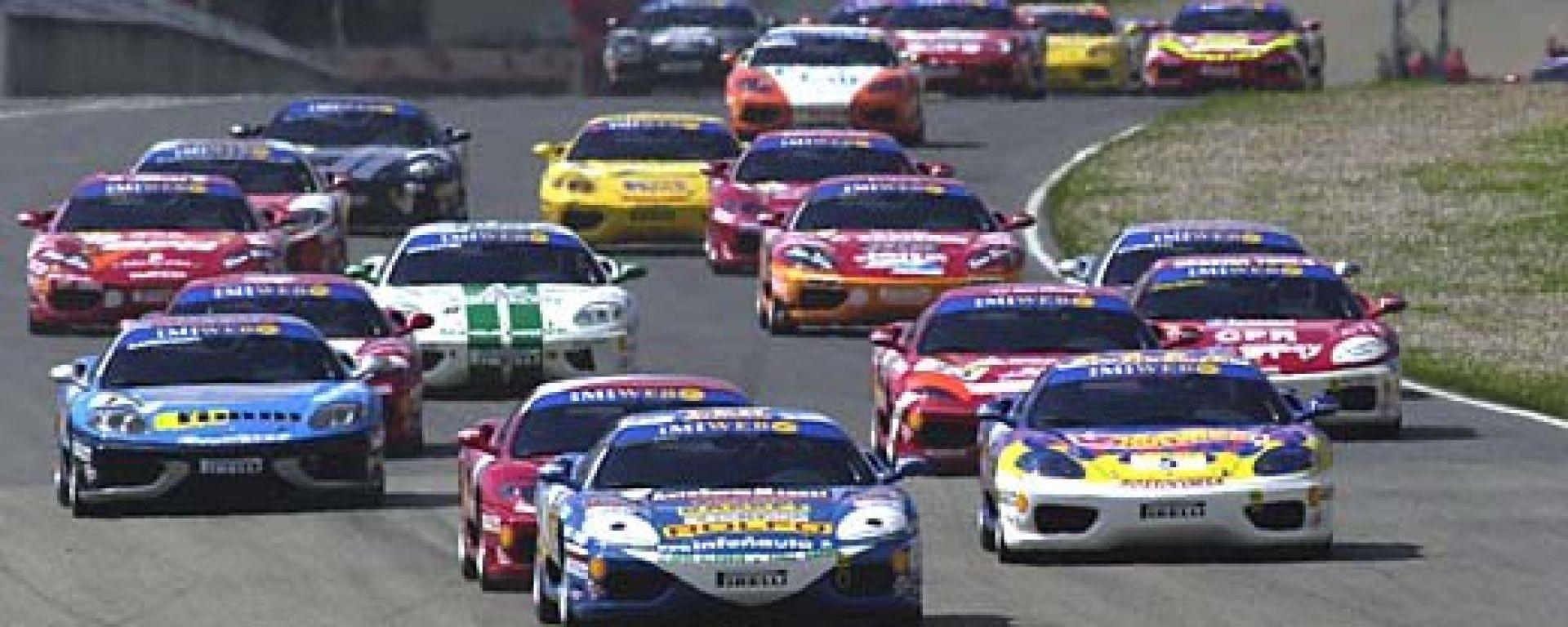 Festa Ferrari a Monza