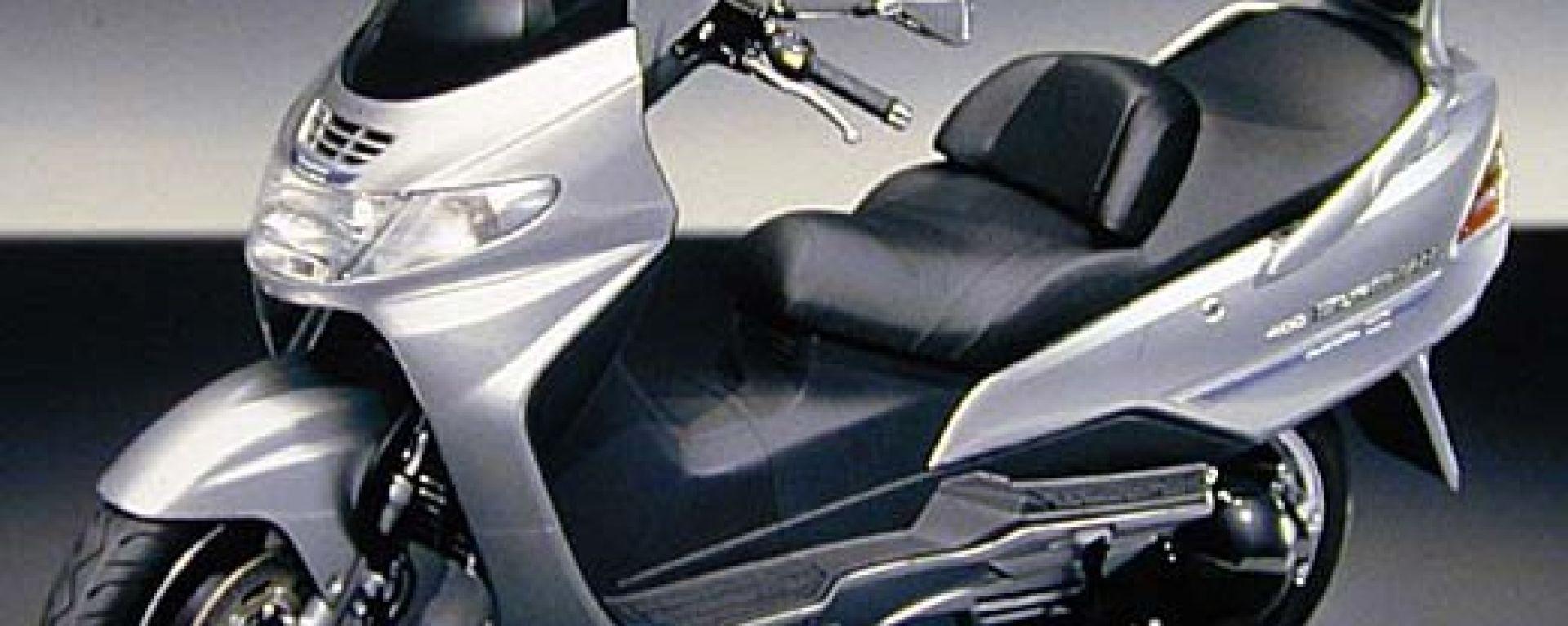 Suzuki Burgman 400 Martini Racing: elogio dell'esclusività.