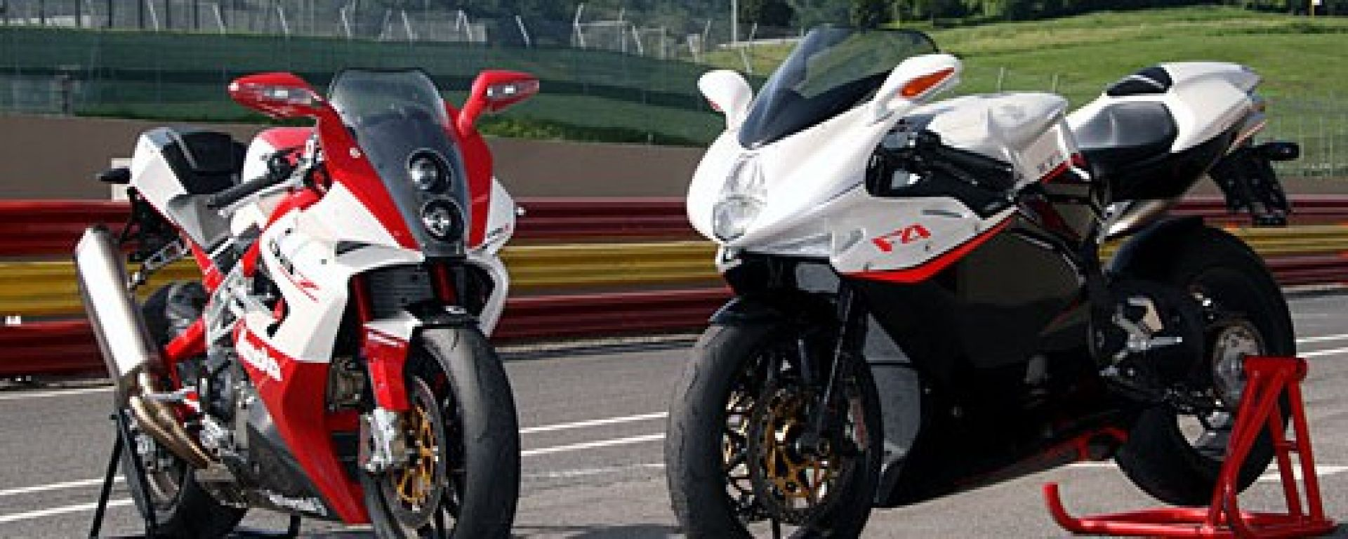 Bimota DB7 VS MV F4 1078