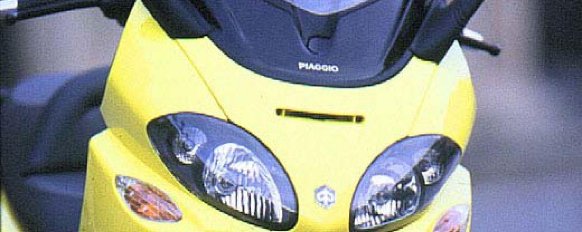 Schema Elettrico X9 250 : Prova su strada piaggio motorbox