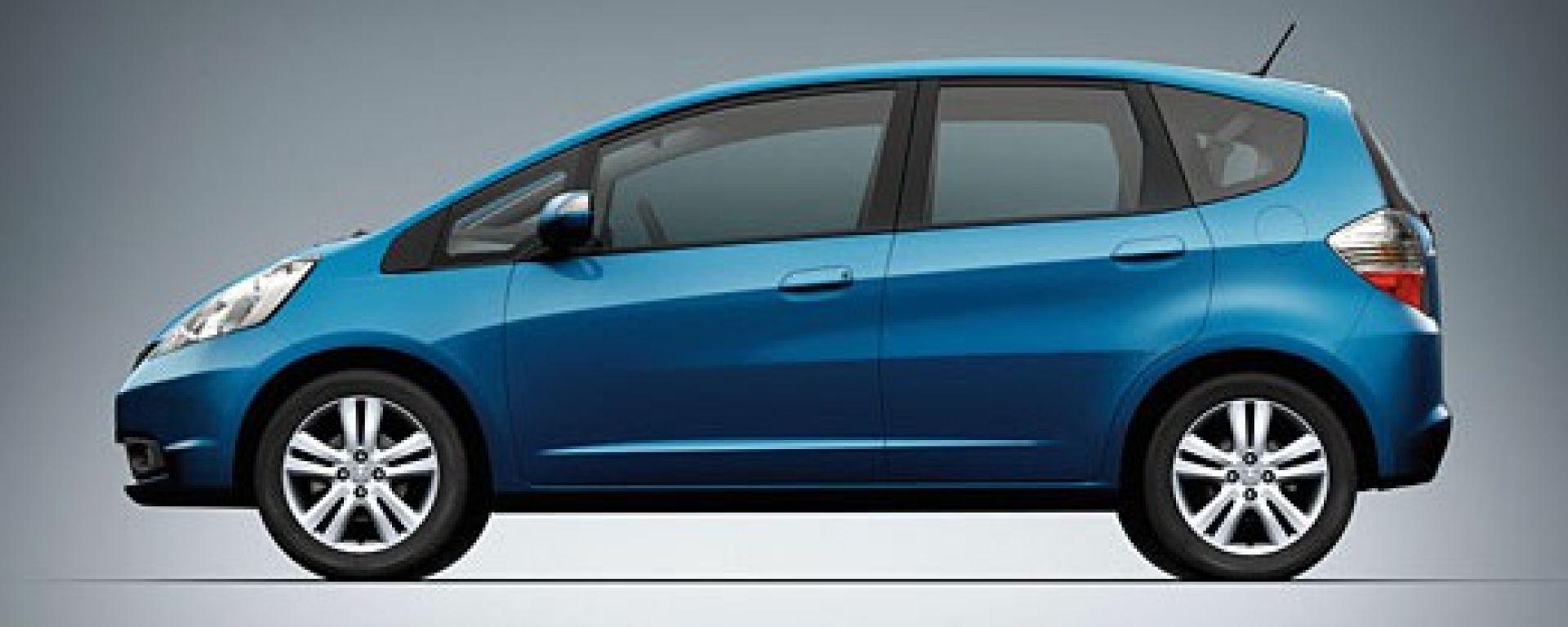 La nuova Honda Jazz in 46 scatti inediti
