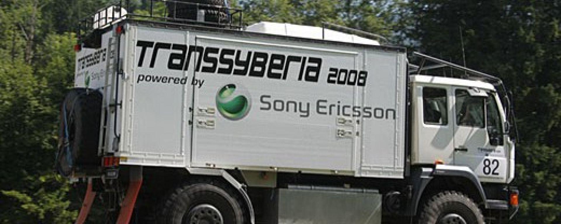 Transsyberia Rally 2008: il percorso