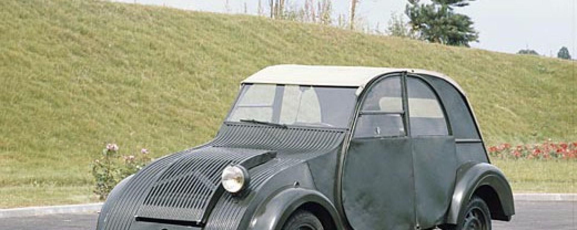 60 anni di Citroën 2CV