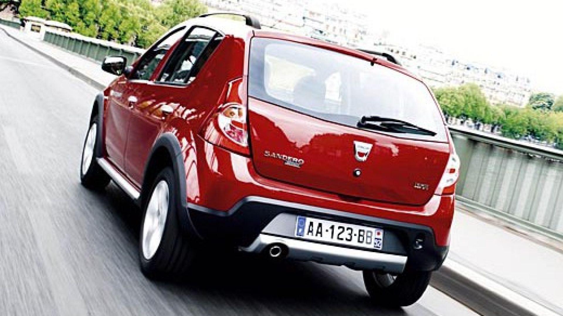 Immagine 9: Dacia Sandero Stepway: le nuove foto