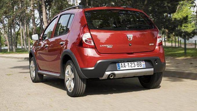 Immagine 7: Dacia Sandero Stepway: le nuove foto