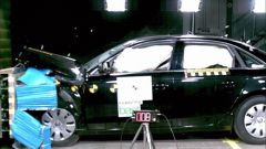 Crash-test Audi A4 2008 - Immagine: 4