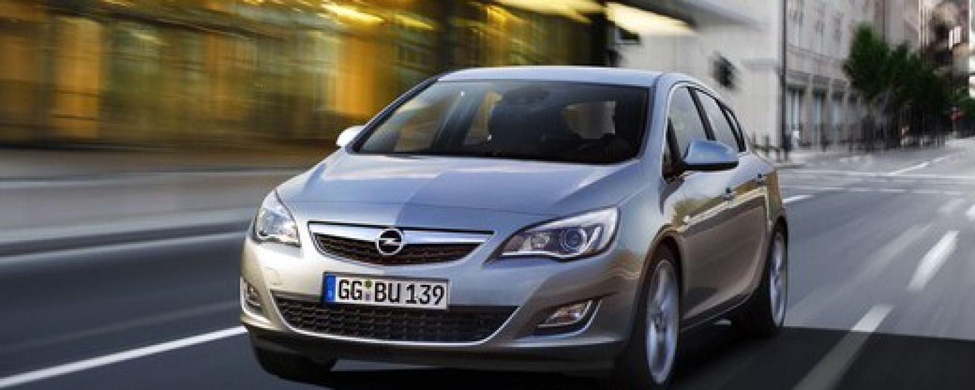 Opel Astra 2010, le prime foto ufficiali