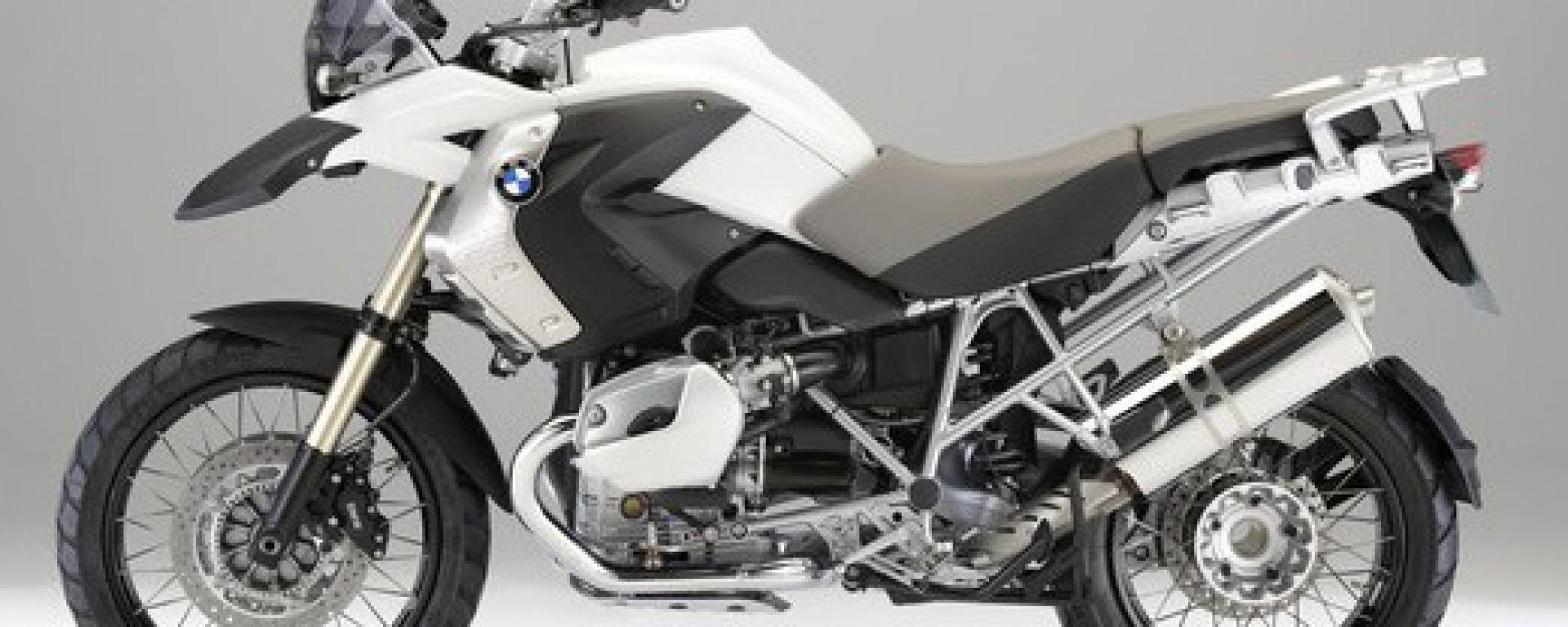 BMW R 1200 GS Alpine White