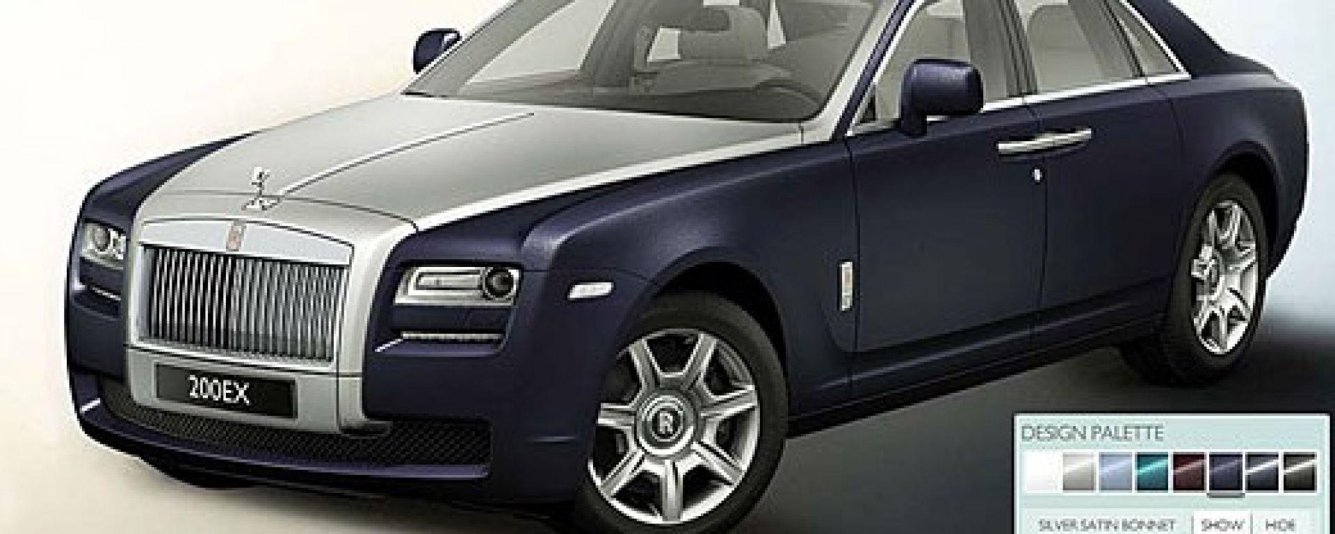 Rolls-Royce Ghost, le nuove immagini