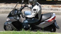 Suzuki Burgman 200 Vs Sym Joyride 200 Evo - Immagine: 14