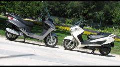 Suzuki Burgman 200 Vs Sym Joyride 200 Evo - Immagine: 27