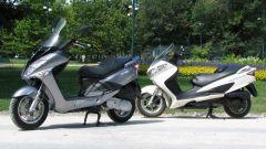 Suzuki Burgman 200 Vs Sym Joyride 200 Evo - Immagine: 31