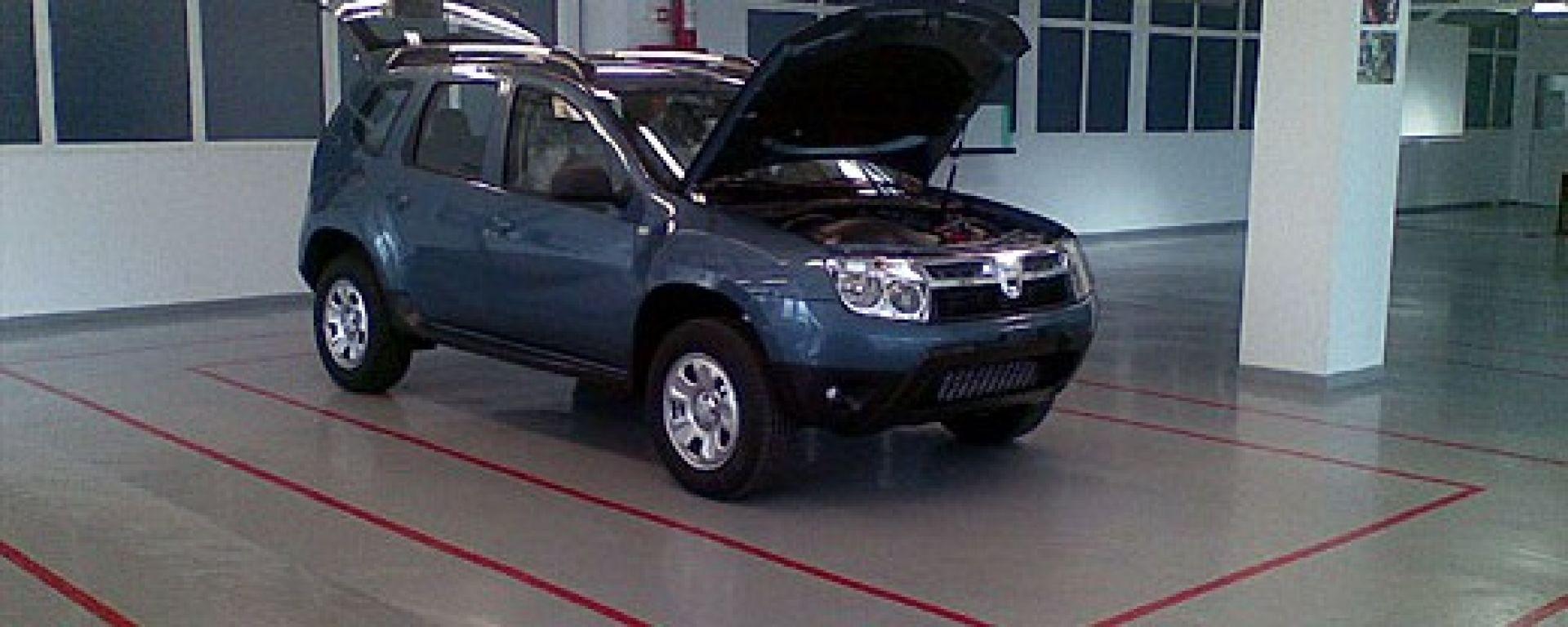 E' il nuovo Suv low-cost Dacia?
