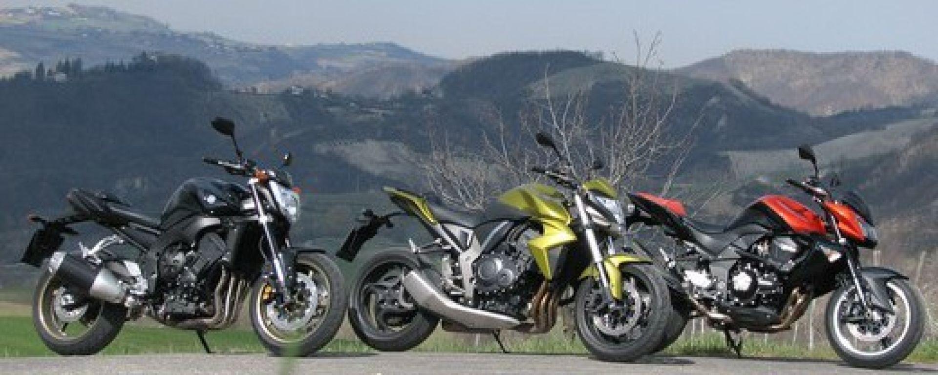Confronto Naked 1000 Jap Motorbox