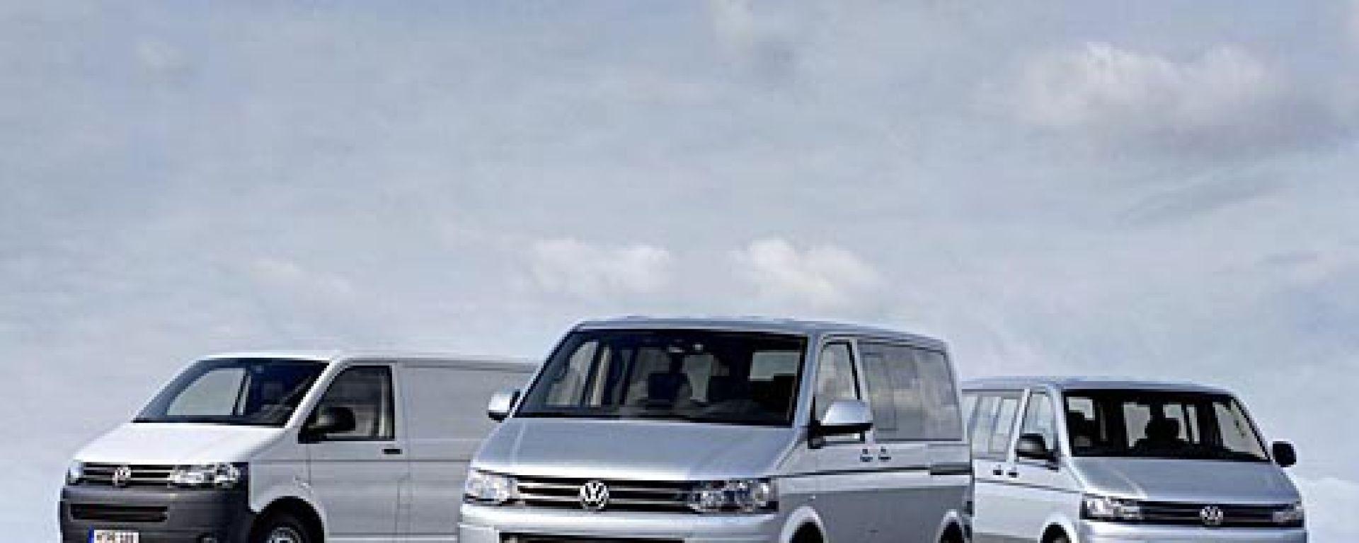 Volkswagen T5 Caravelle, Multivan & Co 2010